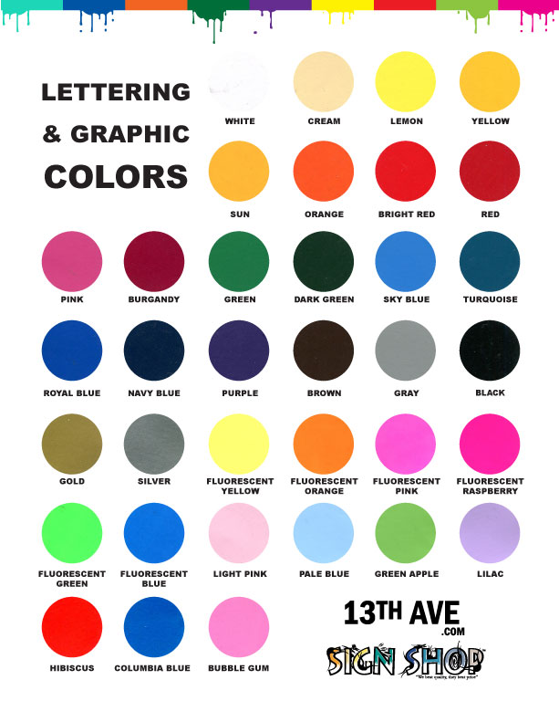 Graphic Colors