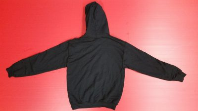 Black Pullover Hoodie Small, He Owns Me (front design)